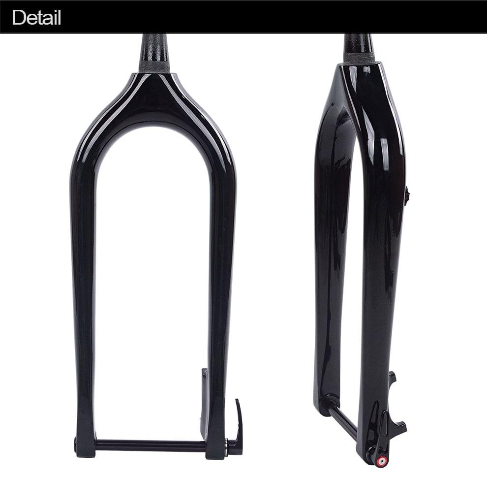 2020 Новый полностью из углеродного волокна, велосипедный вилка для снега 26er велосипедная Передняя жира вилка матовый/глянцевый диск зимние велосипеды жира вилка 4,8 или 5,0 шин|Велосипедная вилка|   | АлиЭкспресс
