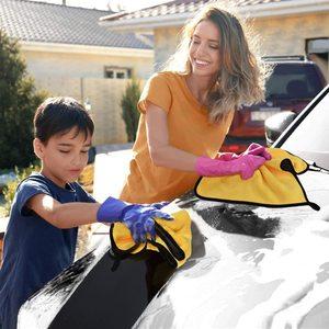 Image 5 - 3/5/10/20 stücke Auto Waschen Mikrofaser Handtuch Reinigung Trocknen Tuch Farbe Pflege Tuch Detaillierung Auto Waschen Handtuch reinigung Lumpen Auto Werkzeuge