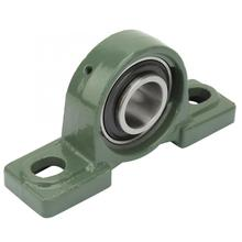 Bearing Mount 1PCS UCP206 Pillow Block Bearing Ball Mounted Bearing 2 Bolt Solid Base with Housing linear slide bearings