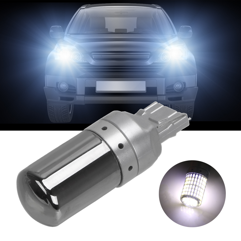 LEEPEE 1Pcs Auto <font><b>Led</b></font>-lampen Blinker Lichter 1156 BA15S P21W T20 7440 W21W <font><b>Led</b></font>-lampen CanBus 3014 144smd bremse Lampe image