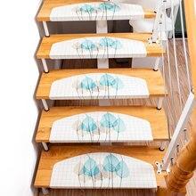 цена на 1pc Pvc Non-Slip Floor Staircase Carpets Stair Treads Children Safety Protector Mats Stair Sticker Floor Stair Carpet Home Decor