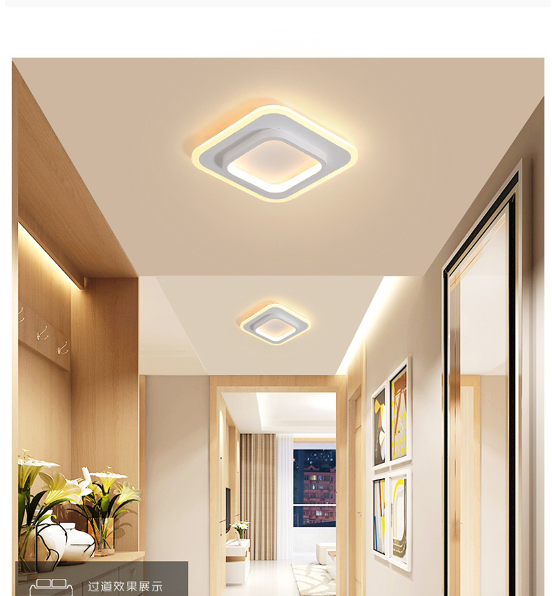 Hdc3cd10804ea4bffad9c5068784ade3fH LICAN Modern LED Ceiling Lights for bedroom bedside Aisle corridor balcony Entrance Modern LED Ceiling Lamp for home