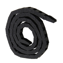 New Cable Wire Carrier 7x7mm Plastic Nylon Towline Cable Drag Chain Nested for Electrical Machinery CNC Machine Tool Black cnc machinery parts for plastic mold