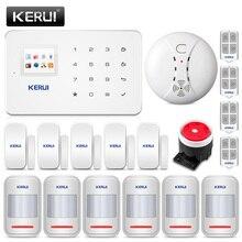 Corina G18 Draadloze Gsm Inbreker Home Security Alarm Systeem Huis Bescherming Kit Telefoon App Afstandsbediening Met Rookmelder