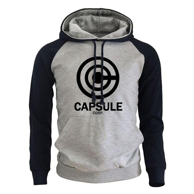 DRAGON BALL Streetwear Hoodies Capsule Corp Logo