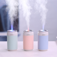 Desktop Car Humidifier Ultra Silent Home Office Cold Fireworks Aroma Diffuser Air Freshener     -