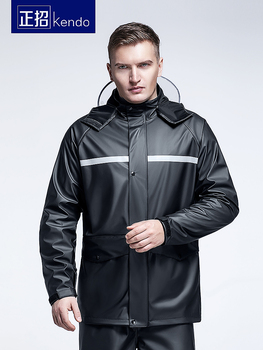 Nylon Waterproof Raincoat Jacket Pants Adult Set Lightweight Raincoat Hooded Outdoor Capa De Chuva Moto Plastic Suit JJ60YY