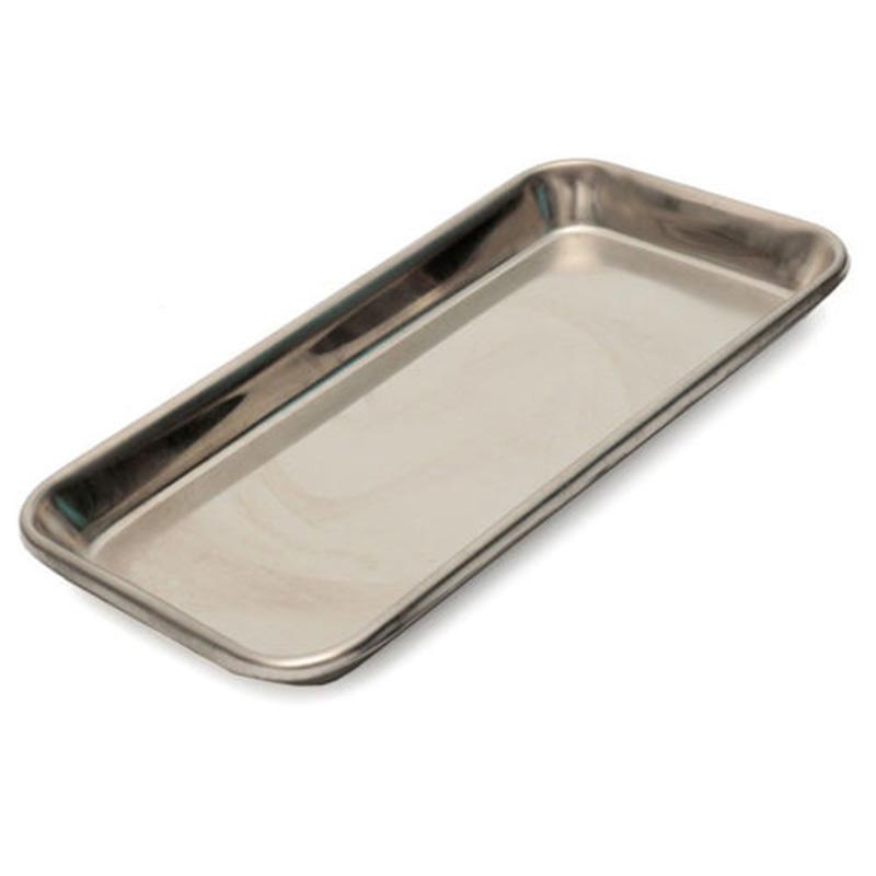 1pcs Dental Tray Steel Medical Surgical Lab Instrument Tool 22cm*11cm*2cm Dish