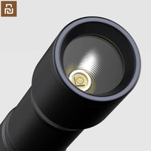 xiaomi mijia flashlight / metal case / compact portable / high light / low light / flash / outdoor battery light