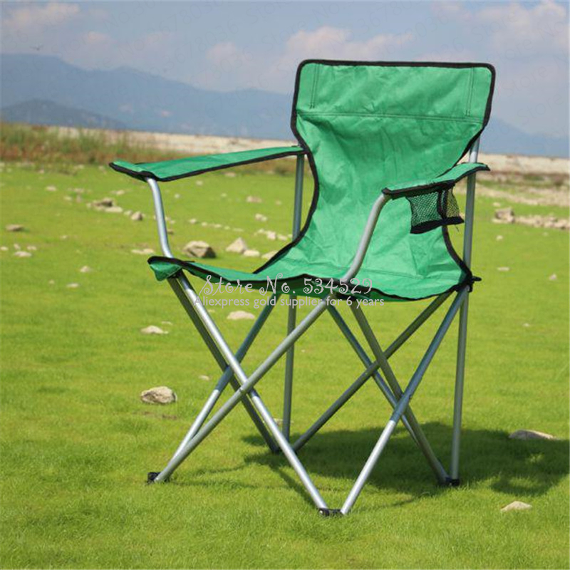 10%Outdoor Leisure Folding Back Fishing Chair Beach Chair Folding Chair Self-driving Camping Chair