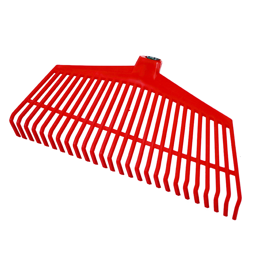 Lawn Non-toxic Portable Courtyard Agricultural Replacement Grass Rake 26 Teeth Odorless Gardening Tools Plastic Cleaning
