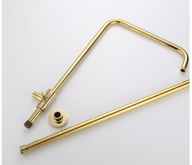 Hdc3deedaffae4e08a5f19e64164b3bebm Luxury Shower System Head Tube Shower System Rainfall Gold Shower Faucet Set Torneira Chuveiro Bathroom Accessories Sets BK50HS