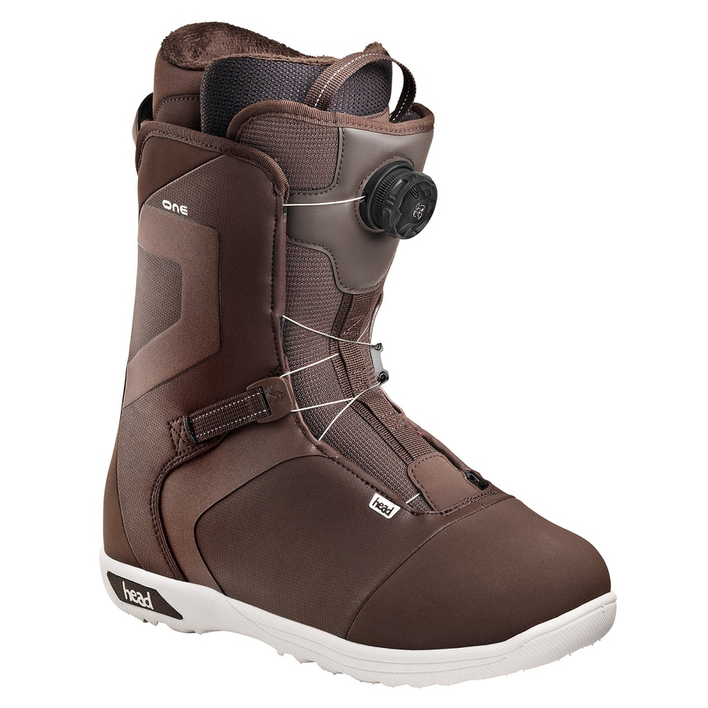 Ботинки для сноуборда HEAD ONE BOA коричневые