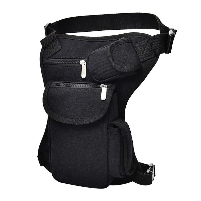 Dihope Men Leg Bag Waist Casual  Belt Hip Bum Military Travel Multipurpose  Shoulder Bag Cycling  Bag Men Waist Pack Chest Bag