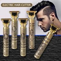 Rasoio elettrico macchinetta per capelli Tagliacapelli tagliacapelli tagliacapelli Tondeuse professionale Homme Maquina de Cortar Cabello USB Trimmer barba rasoio T9 regolabarba rasoio da barba elettrico rasoio