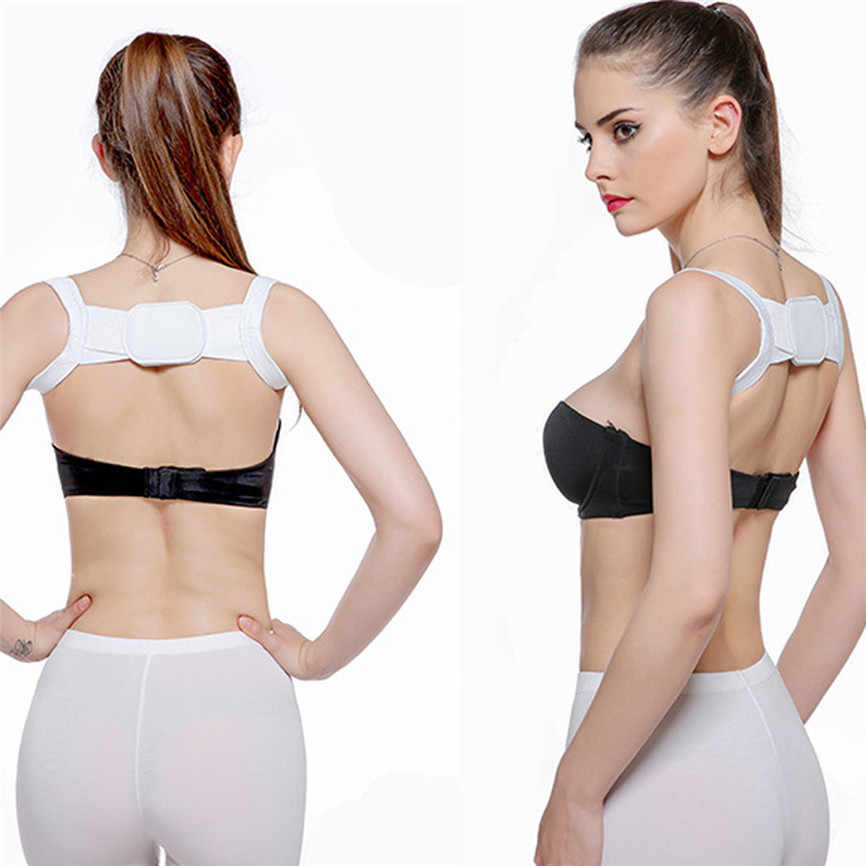 女性インナーコレクターデバイス快適な固体バックサポートカッコショルダー胸ベルト整形外科ブレース肩幅 2019 30