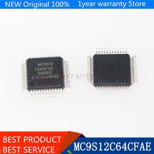 {Nouveau original } MC9S12C64 MC9S12C64CFAE 9S12C64 48-LQFP HCS12 IC 10 pcs/lot