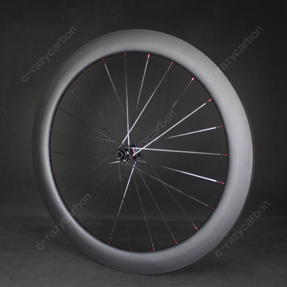 Image 2 - Best Carbon Road Race Wheels For Sale Cycling R13 D Disc Brake Center Lock Best  Clincher/Tubeless Disc Brake Road Bike WheelsBicycle Wheel   -