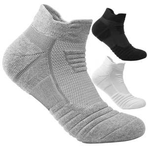 Athletic Socks Football Cycling Anti-Slip Sports Wicking Breathable Women New Thick 1-Pair