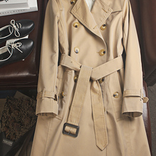 Obrix New Style Trendy Female Trench Autumn Spring Fashionable Cotton High Quali