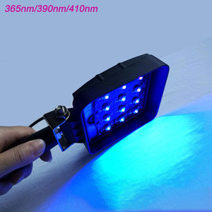 Image 2 - vusum 120W 160W wavelength 365nm 395nm 405nm handheld portable UV LED curing light mobile phone screen repair lamp ink curing