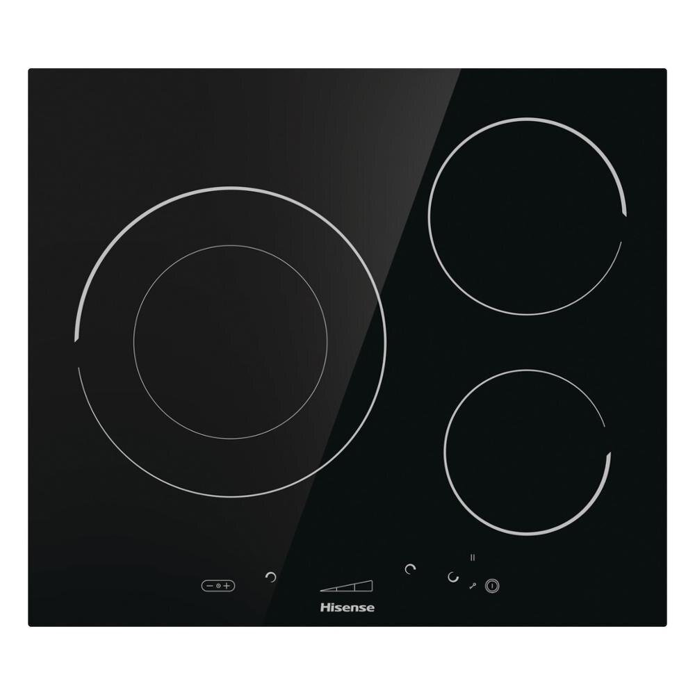 Hisense I6341C cuisinière à induction, 7200W, SliderTouch, 59,5 × 5,8 × 52 cm, 3 brûleurs, serrure de sécurité - 2