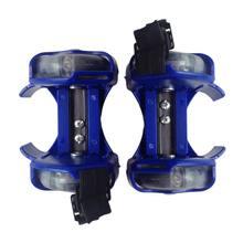 3 цвета яркий мигающий ролик вихрь шкив флэш колеса каблуки