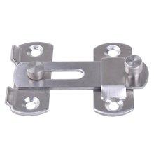 Нержавеющая сталь защелка запор с щеколдой раздвижные дверные замки для оконная фурнитура для шкафа установленный дверной замок раздвижные двери для обеспечения безопасности защелка замка