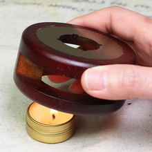Seal Melting Furnace Retro Wax Oven Solid Wood Stove Bead Stick Making Stamping Heater Wax Pot Handicrafts Card Crafts