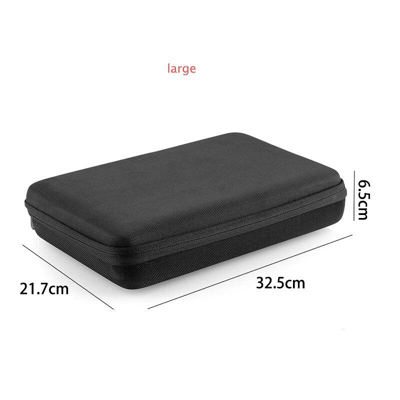large Protective Case for GoPro Hero 3 4 5 6 7 SJCAM Sport Camera Accessory Anti-shock Storage Bag Portable Action Camera Case