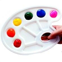 Paleta de arte paleta de pintura paleta paleta das crianças paleta de arte artesanal escola