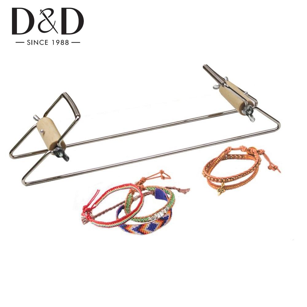 Crafts Weaving-Kit Beading Loom Necklace Knitting-Machine Stainless-Steel Make for Bracelet