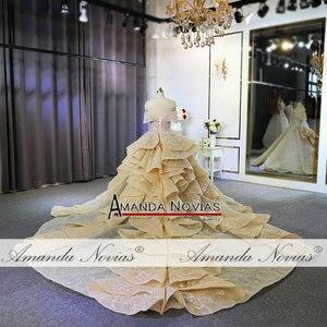 Image 5 - Luksusowa suknia ślubna w dubaju 100% prawdziwa praca