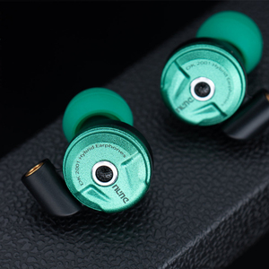 Image 5 - DUNU DK2001 היי Res 3BA + 1DD היברידי נהגים ב אוזן אוזניות IEM עם MMCX עצמי נעילה מהיר לשינוי תקע DK 2001 DK 2001