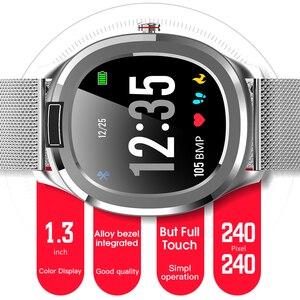 "Image 4 - אק""ג + PPG טמפרטורת צג קצב לב לחץ דם IP68 עמיד למים חכם שעון גשש כושר RUGUM T01 ספורט שעוני יד"