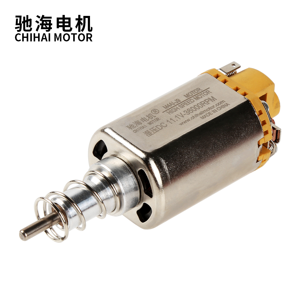 chihai motor 460-J9 gel blaster parts long shaft High Speed dc motor for Jin Ming 9 M4AI