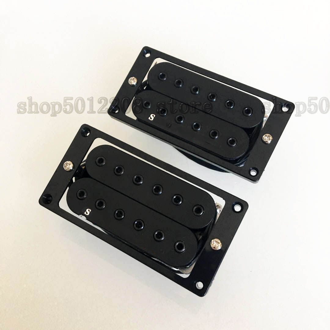 SH-1 Passive Pickups Electric Guitar Humbucker Neck And Bridge Alnico 4 Conductor Wires