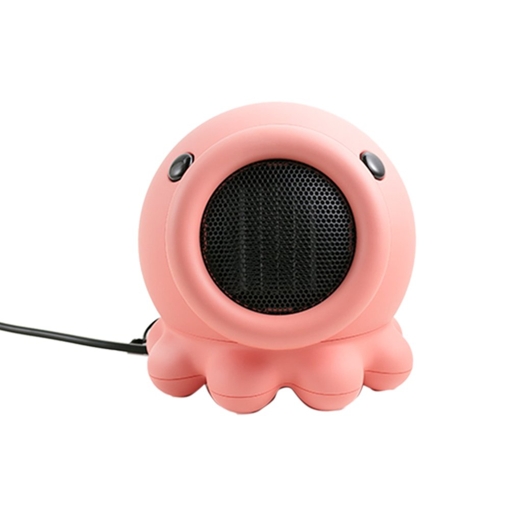 Octopus Bed Head Heater Can Shake Head Mini Portable Octopus Shape Home Heater Electric Heater Heater