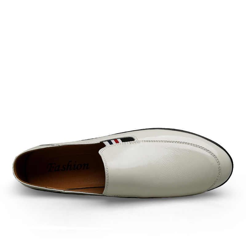 Летние мужские лоферы; модная мужская повседневная обувь; Размеры 37-46; обувь для вождения в горошек; мужские кроссовки на плоской подошве; Мужская прогулочная обувь; % 9809