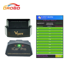 Original Vgate iCar pro ELM327 Real V2.2 OBD Code reader Bluetooth/WIFI  Auto Sleep For Android And IOS Batter than ELM327 V1.5