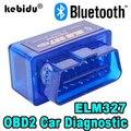 Диагностический сканер Kebidu Elm327 V2.1 Bluetooth OBD2, автомобильный диагностический сканер Elm327 2,1 OBD 2 Elm 327, автомобильный диагностический инструмент ...