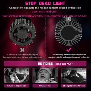 Image 5 - Novsight Mini żarówka led h7 h4 2v wysokiej jakości światła samochodowe h1 hb4 hb3 h8 h11 żarówki led do reflektorów 360 stopni reflektor Led automotivo