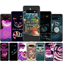 CHESHIRE CAT Silicone Phone Case for Samsung
