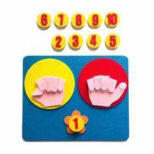 Монтессори игрушки точки жестов сделай сам ткань раннее обучение