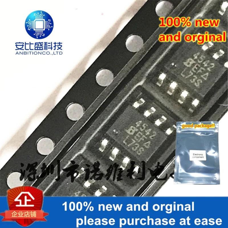 10pcs 100% New And Orginal SI4542DY-T1-E3 SOP-8 SI4542 N 4542 30V 6A In Stock