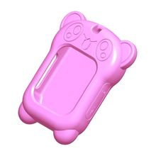 Universal Silicone Material Children's Smart Watch Skin-friendly Washable And Comfortable Protective Cover Pink Blue