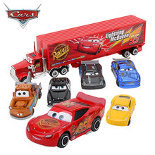 1:55 Diecast Car-Model Lightning Mcqueen Pixar Metal-Alloy Cars Disney Mater Gifts Jackson Storm