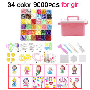 Toys Educational-Toys Puzzle Animal-Molds Hand-Making Water-Magic-Beads Girls Kids Children