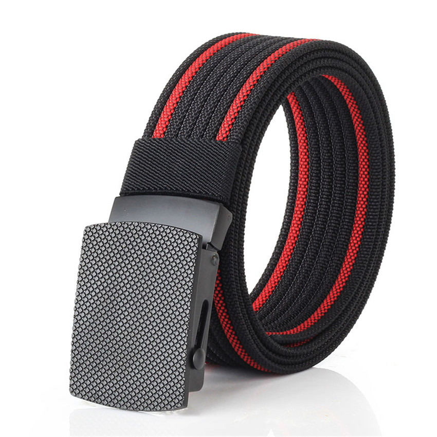Military Canvas Belt Men Adjustable Nylon Army Tactical Belts Outdoor Sport Weave Male Brand Waist Belt Cowboy Jeans Pants Strap