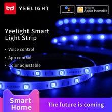 Yeelight אורורה LED אור רצועת בתוספת חכם Wifi תמיכה Xiaomi Mi בית אפל Homekit אמזון Alexa גוגל עוזר קול שליטה
